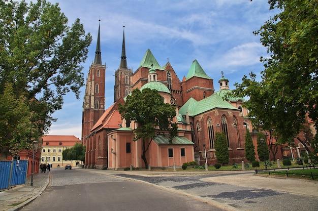 Kościół we wrocławiu miasto polska