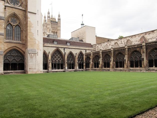 Kościół westminster abbey w londynie