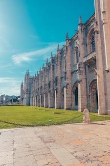 Kościół wewnątrz w belem lizbona