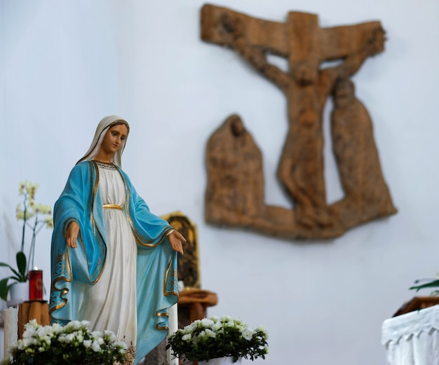 Kościół wewnętrzny św. jana chrzciciela w cannigione