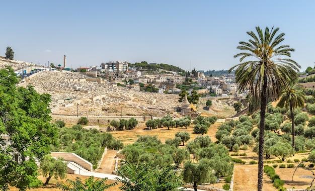 Kościół wszystkich narodów w dolinie cedronu - jerozolima, izrael