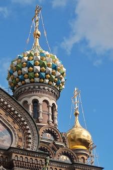 Kościół zbawiciela na przelanej krwi sankt petersburg rosja