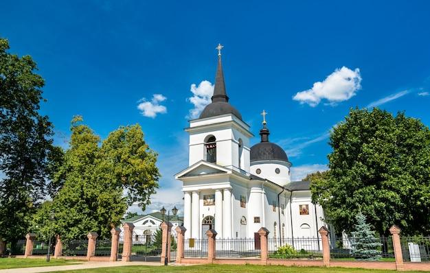 Kościół zmartwychwstania pańskiego w baturyn, obwód czernihowski na ukrainie