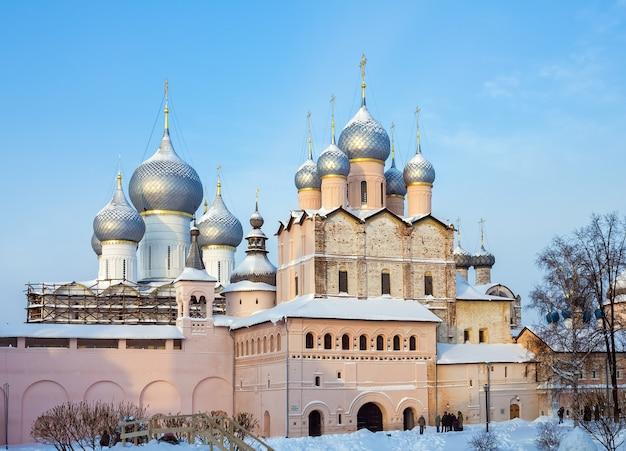 Kościół zmartwychwstania rostowskiego kremla.