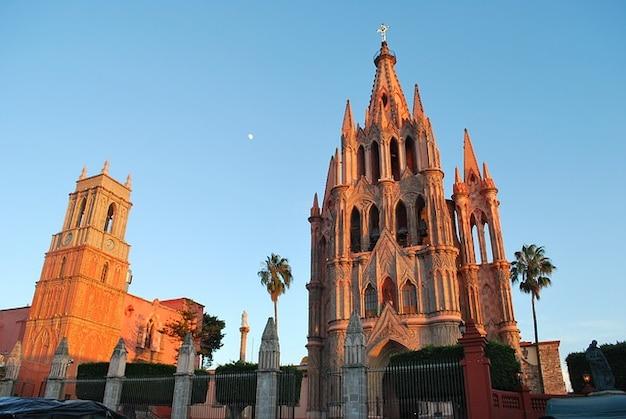 Kościoły meksyk kościół de san miguel allende
