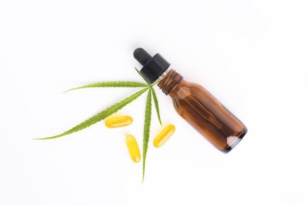 Kosmetyczna koncepcja oleju cbd
