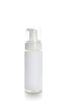 Kosmetyczni zbiorniki odizolowywający na bielu
