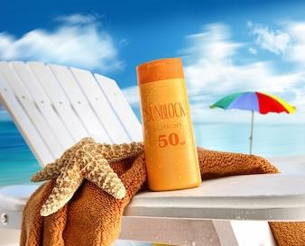 Kosmetyki na plaży