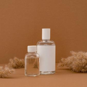 Kosmetyki od przodu u odbiorców