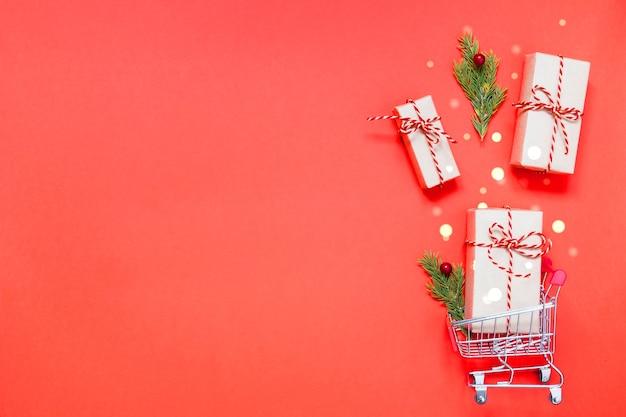 Koszyk z prezentami
