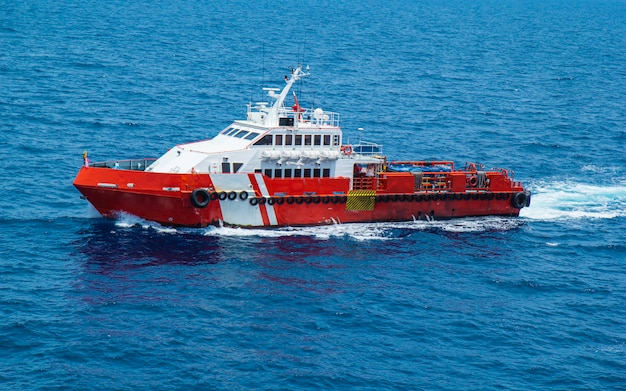 Kotwa offshore przemysł wydobycia ropy naftowej i gazu naftowego .