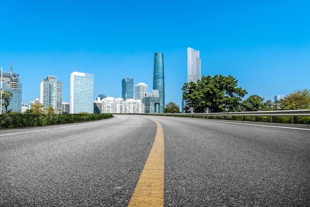 Krajobraz drogowy i urbanistyczny architektoniczny