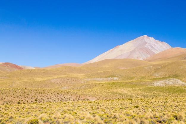Krajobraz gór boliwii