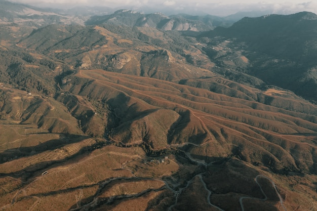 Krajobraz gór w turcji
