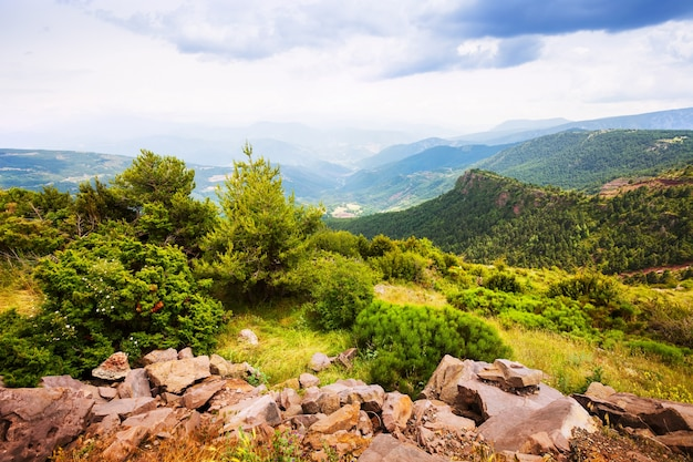 Krajobraz górski kataloński