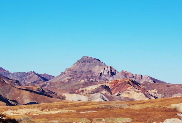 Krajobraz górski w kolorado rocky mountains, kolorado, stany zjednoczone.