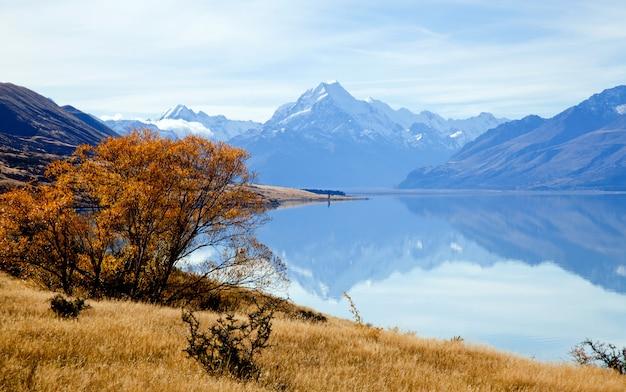 Krajobraz góry cook range