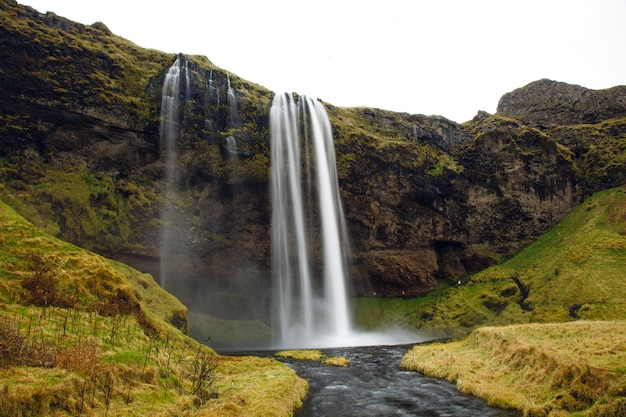 Krajobraz islandzkiej przyrody