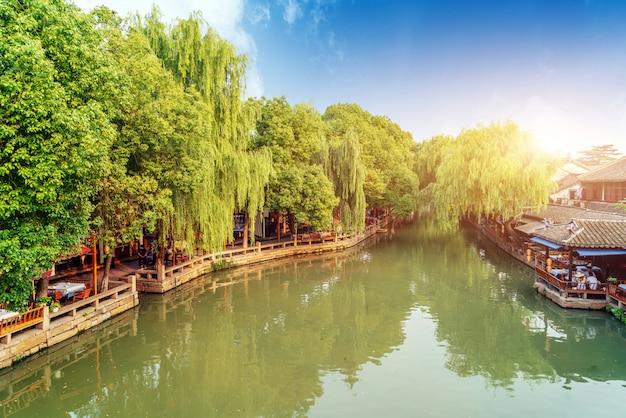 Krajobraz jiangsu zhouzhuang