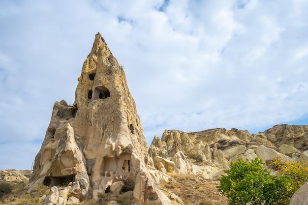 Krajobraz kapadocji w göreme, turcja
