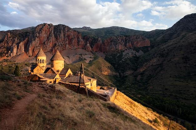 Krajobraz klasztoru ormiańskiego