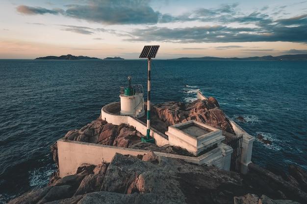 Krajobraz latarni morskiej