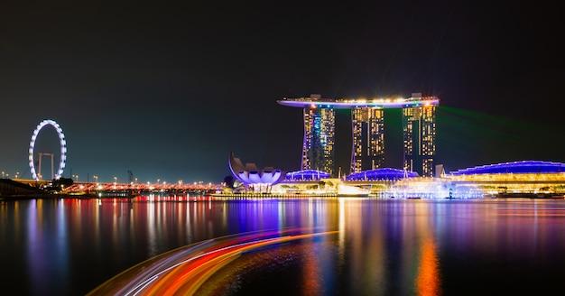 Krajobraz miasta singapuru