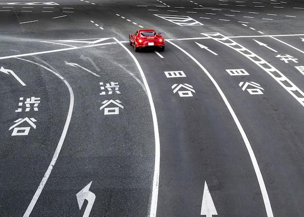 Krajobraz miejski japonia ulica