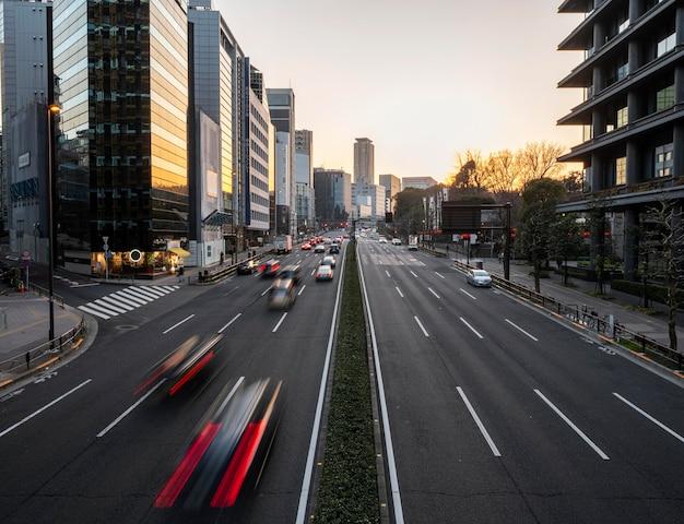 Krajobraz miejski japonii