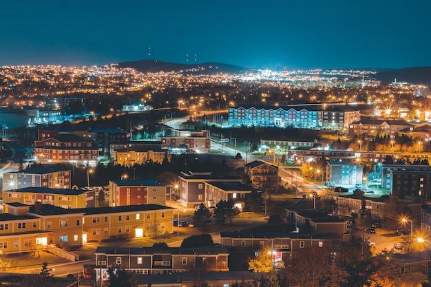 Krajobraz miejski w nocy