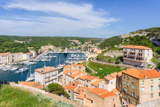 Krajobraz na wyspie korsyka we francji