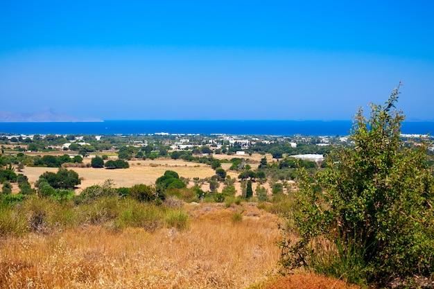Krajobraz na wyspie kos