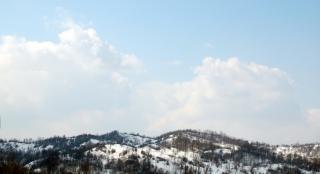 Krajobraz, niebo