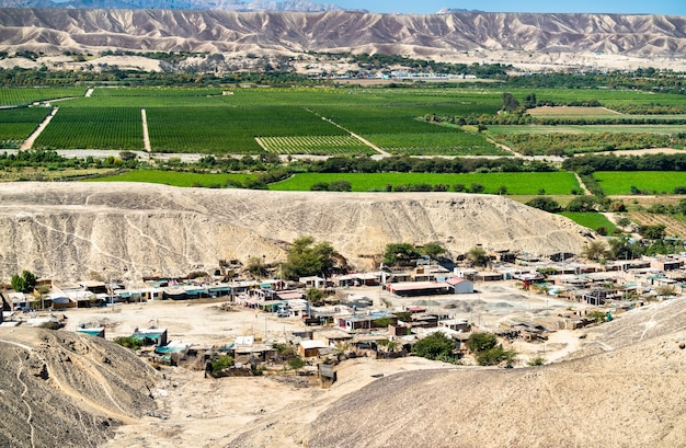 Krajobraz palpa w peru