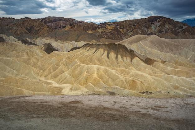 Krajobraz parku narodowego doliny śmierci