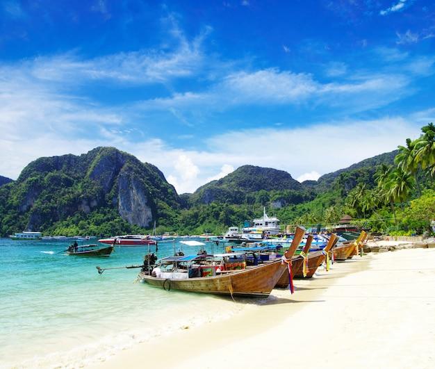Krajobraz plaży