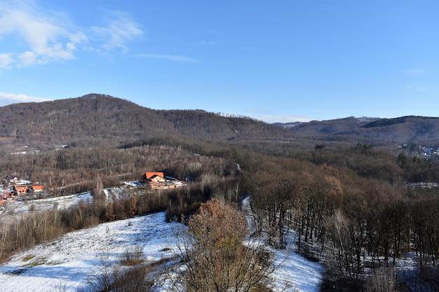 Krajobraz przyrody - góry