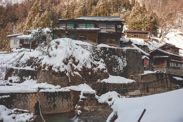 Krajobraz śniegu