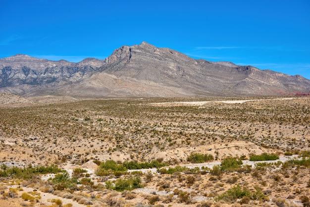 Krajobraz w red rock canyon, nevada, usa