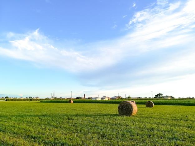 Krajobraz wiosny włoskiej wsi
