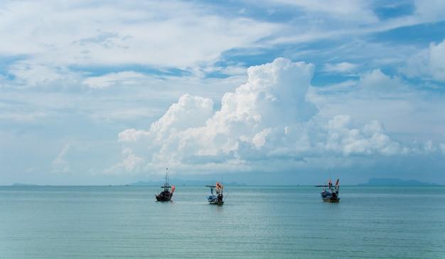Krajobraz wyspy samui, tajlandia
