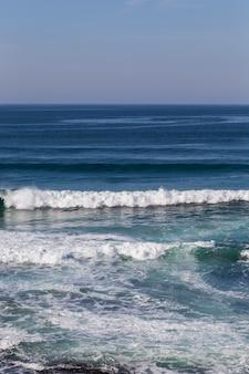 Krajobrazowego zmierzchu atlantycka linia brzegowa
