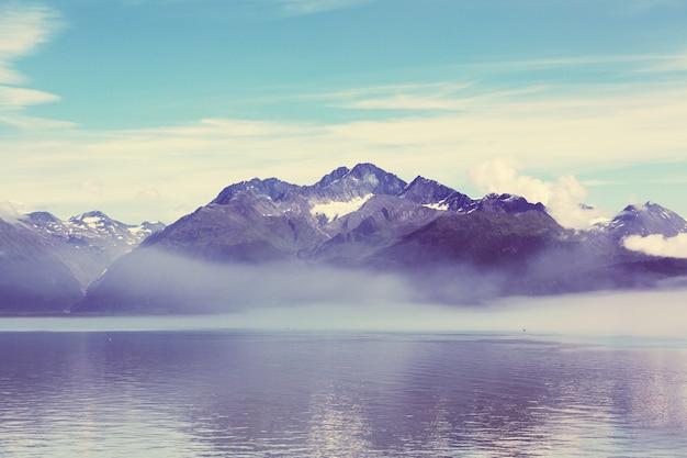 Krajobrazy alaski, stany zjednoczone