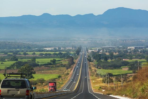 Krajobrazy meksyku