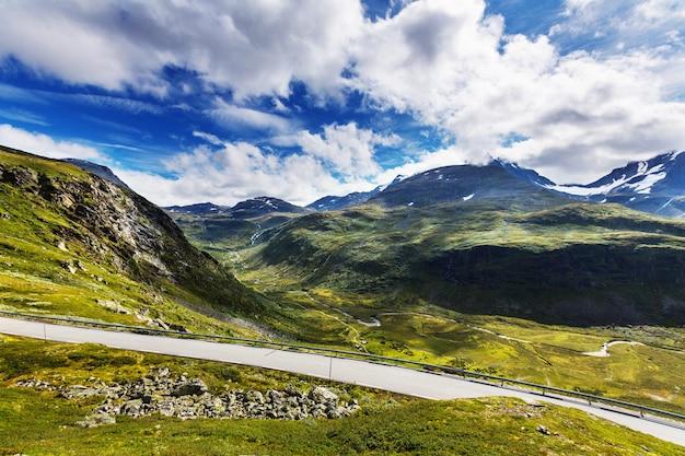 Krajobrazy norwegii
