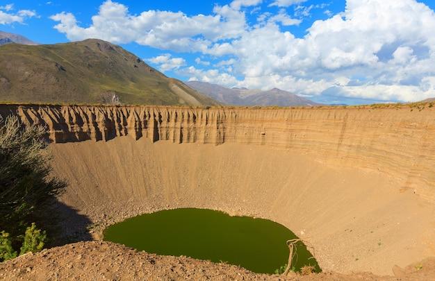 Krajobrazy patagonii w argentynie, ameryce południowej