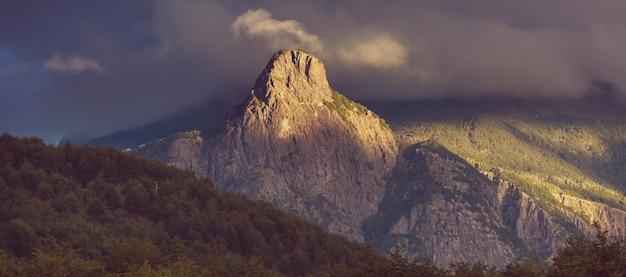 Krajobrazy patagonii w południowej argentynie