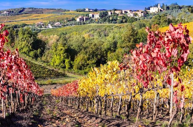 Krajobrazy toskanii