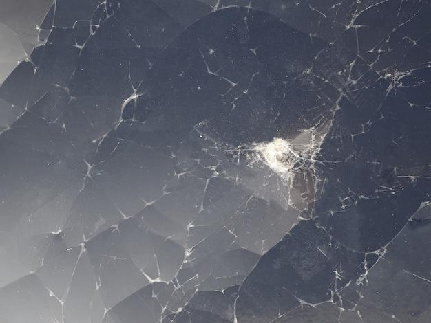 Krakingowy szkło łamany lcd pokazu ekranu tło