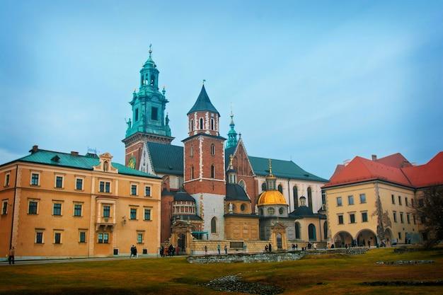Kraków, polska, wawel.